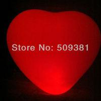 20 pcs/Lot, Free Shipping, Led Light Flashing Balloons, Heart style. Festival, Party, Wedding Decoration, 5 Colour. 5Pcs/ Bag.