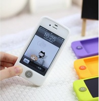 TTDeals Fashion Jelly Bean Soft Case for iphone 4 4S (White)