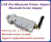 2pcs/lot 100Meter USB Port Bluetooth Serial Adaptor Bluetooth Standard 2.1 + EDR EMS,DHL free shipping