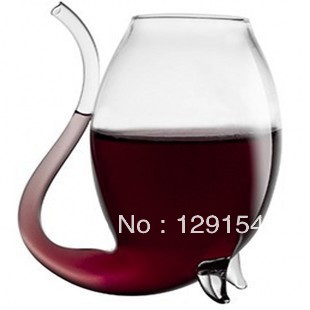 Crystal transparent glass wine glass red wine cup juice suction cup wine cup