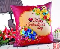 Ribbon embroidery intergards pillow new arrival car pillow ceremonized sofa cushion love dessert