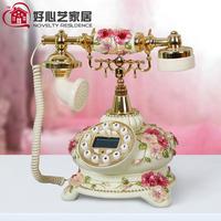 pink Antique telephone landline telephone fashion phone cute creative products