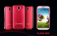 1-5PC TOP Quality Brand New GLider  Fashion  Aluminium Bumper  +   back  For Samsung Galaxy S4 I9500  Free shipping
