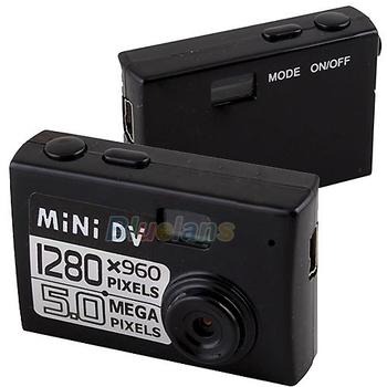 New Smallest Mini 5MP HD DV Digital Camera Video Recorder Camcorder Webcam DVR Free Shipping