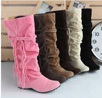2014 Fringed boots higher in spring and autumn single boots size to Martin leisure students boots
