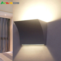 (WECUS) the original authentic, simple modern creative bedside lamp, balcony / bedroom porch lamp, without source, XJ-BD-0005