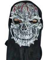 Prom party supplies halloween black ghost mask