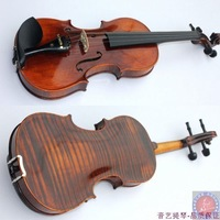 Quality plate violin quality antique professional , 4a tiger