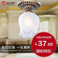 Q lamps ceiling light fashion antique rustic balcony entranceway aisle lights fd6002