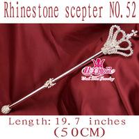 wholesale scepters/rhinestone scepter/pageant scepter/popular crown shape scepter SZ052