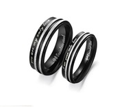 Free Shipping wedding band rings for lovers coupling rings