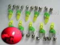 50Set(Bell+Light) Fishing Twin Bell Bait Bite Alarm