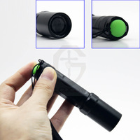 1PC Adjustable 3W 300LM Q3 LED Mini LED Torch Flashlight Focus Zoom flash Light Lamp Waterproof FREE SHIPPING#DT024