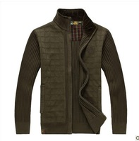 Cotone Cotton  Long Winter  XXXL Coat & Jackets mens jackets outwear sweater Black army green  men 2013
