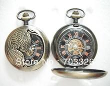 wholesale peacock pocket watch