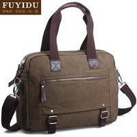 Man bag horizontal bag messenger bag fashion