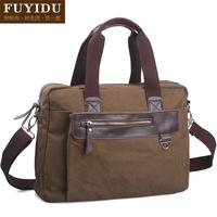 Fashion canvas man bag casual bag handbag messenger bag large capacity one shoulder travel bag