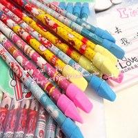 Free shipping cartoon pattern pencil school supplies