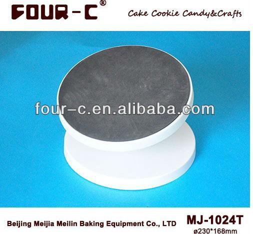 Torta de plástico inclinación giradiscos, de alta calidad decoración de pasteles de herramientas