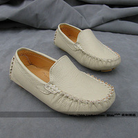 free shipping Sallei male brief child gommini loafers boat shoes child leather children leather