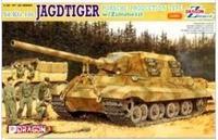 Dragon model 6493 1/35 JAGDTIGER  PRODUCTION TYPE w/Zimmerit plastic model kit