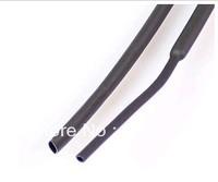 Free Shipping Dia. 2mm black Heat Shrink Tubing 2:1 Shrinkable Tubing length 200M(656Ft)