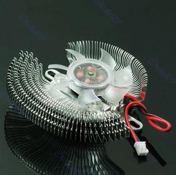 D19+New 2 Pin Small QQ Computer Graphics Card Heatsinks Cooler Cooling Fan