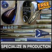 2010 Free Shipping Luxury Maruman Golf Majesty Prestigio Gold Premium Driver 10.5 Loft Headcovers Included