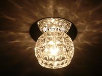 FREE SHIPPING Ceiling Lights 5PCS Entrance lights aisleceiling light  diamond glass crystal lighting
