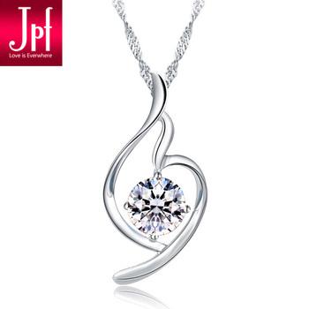 Jpf 925 pure silver necklace female pendant short design jewelry silver jewelry fashion accessories