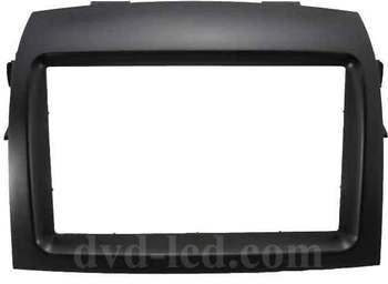 Toyota sienna  DVD navigation frame radio facia refitting frame double din frame