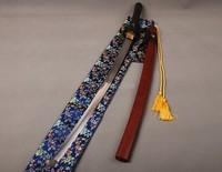 Folded Steel 32768 Layers Clay Tempered Samurai Sword Full Tang Katana Sharpened