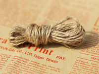 60M Fine linen Color rope 2MM Retro Gift Handmade photo rope, price Hang tag rope DIY Accessories  free shipping