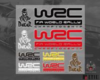 wrc pvc adhesive sticker