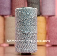 50 Spools(110yard/spool 100g/spool) Eco-Friendly PARTY OEM  12Ply 100% Cotton Bakers Twine LT BLUE For Decoration FREE SHIPPING