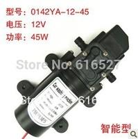 Free shipping 12V 45W micro diaphragm pump discharge pressure backflow 0142Y(H)A(B) thread water pump wash car
