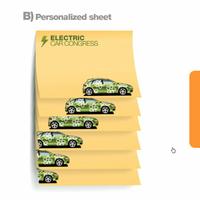 Make rectangle shaped sticky notes colorful sticky notes portable post-it notes with post it notes sticker