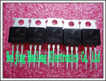 {Free Shipping}   50pcs/lot   New transistor BD243C 6A 100V NPN TO220 FSC -line