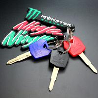 Key Chain Ring for Kawasaki Ninja ZX-6R ZX-10R 250R 650
