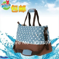 Fashion multifunctional bag nappy bag mother bag large capacity infanticipate bag cross-body buggiest