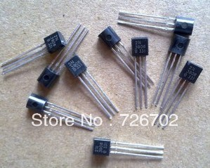 Free Shipping 100Pcs /lot 2N3906 TO-92 NPN Transistors New Original Good quality