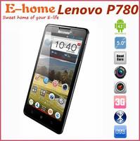 "Original Lenovo P780 Phone MTK6589 1GB ROM Quad core 1.2ghz 5.0"" Screen 8MP Camera Android4.2  Phone gorilla class 3G GPS WIFI"
