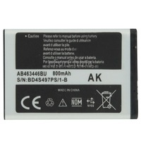 800mAh AB463446BU Replacement Battery for Samsung C512 X208 1258 1250