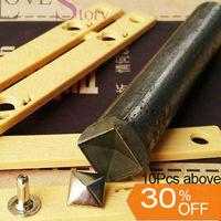 Free shipping 7Pcs tools kits 5mm  6mm 7mm 8mm 9mm 10mm 12mm pyramid rivets clamp tools 30% discount fo wholesale
