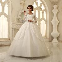 The bride wedding dress 2013 wedding formal dress sweet princess slit neckline vintage wedding dress