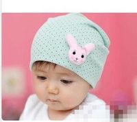 10PCS CUTE RABBIT BABY CAP KIDS HATS COTTON  BEANIE INFANT HAT