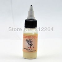 Temporary Airbrush Tattoo Ink - White colors  pigment  supply free shipping TO USA BY DHL