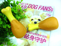 Free Shipping 5 pieces/lot Rubber Chicken Dog Training Toys Squeaker