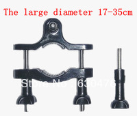 Large diameter 17-35cm handlebar mount locomotive clamp car roll frame Motorcycle tube clip For gopro2/3/3+/4 Gopro accessories