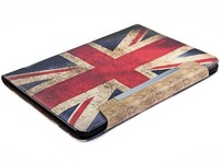 Retro US UK Flag Leather Stand Case For Samsung Galaxy Tab P5100 Cover For Samsung Galaxy Tab 2 10.1' P5100